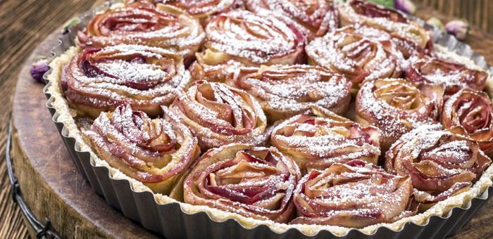 tarte aux pommes top