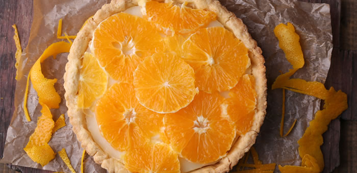 orange tart top